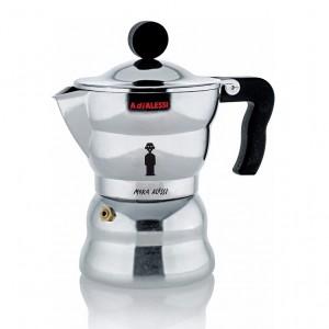 Alessi - Moka kotyogó kávéfőző 3 személyes