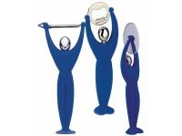 Bugatti - Gym 3 részes készlet (hámozó, pizzavágó, sörbontó) kék
