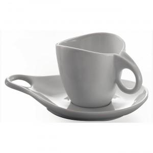 Bugatti - Milla porcelán cappuccino csészekészlet 6 személyes