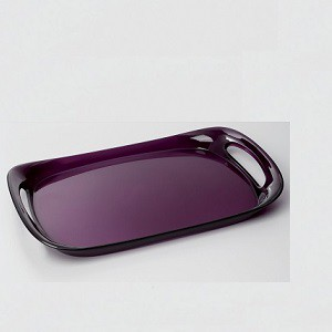 Casa Bugatti - Glamour tálca lila 46 x 30cm