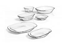 ViDiVi - Chef'n'Table hőálló üvegedénykészlet (3db + 3db tető)