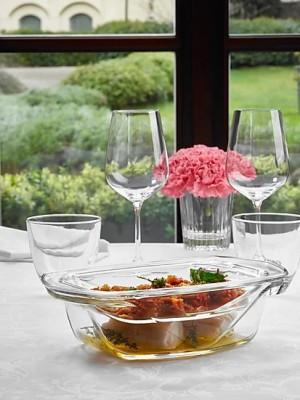 ViDiVi - Chef'n'Table hőálló üvegedény+tető 1,4l