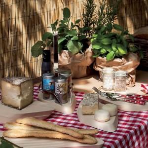 Casa Bugatti - Trattoria asztali fűszertartó készlet 1+4 részes