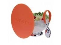 Bugatti - Primavera salátástál + Molla Kiss salátaszedő kanál narancs színű