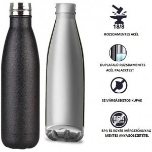 Tognana - termopalack Save the Planet - Fashion fekete
