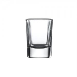 Evviva négyszögletes pálinkás pohár 5cl