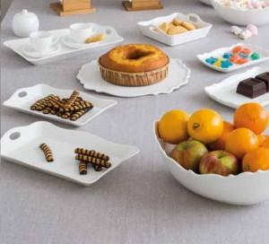 Tognana - Kalika 2db süteményestál 30x19 és 25x16cm